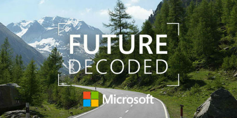 Microsoft Future Decoded 2015