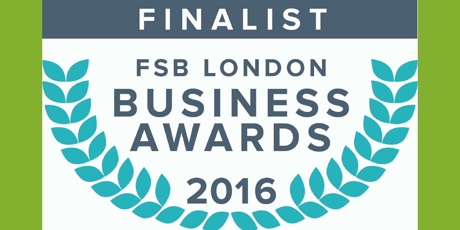 Business clan finalist at FSB London Awards