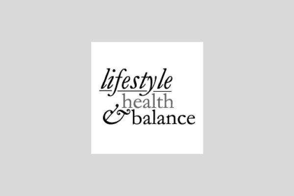 lifestyle, health and balance's logo