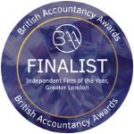 British Accountancy Awards Finalist 2018