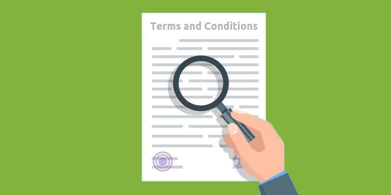 Terms and conditions blog