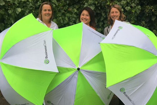 Umbrella competition to win business advice