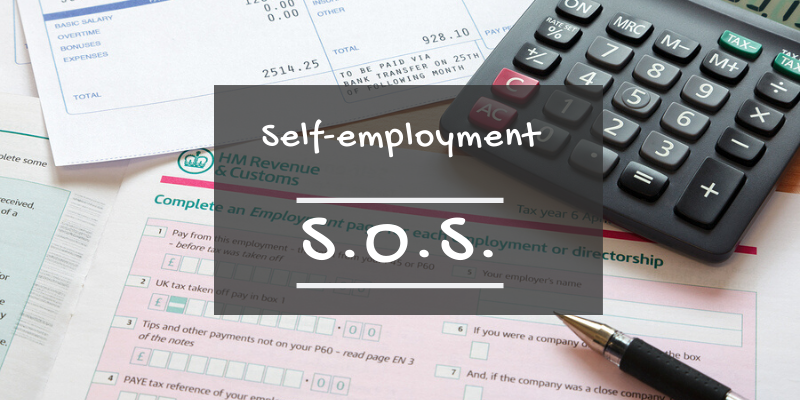 Self-employment SOS blog